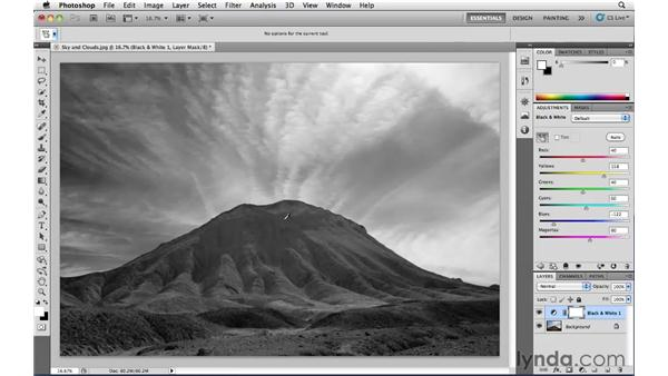 Black-and-white conversion: Photoshop CS5: Landscape Photography