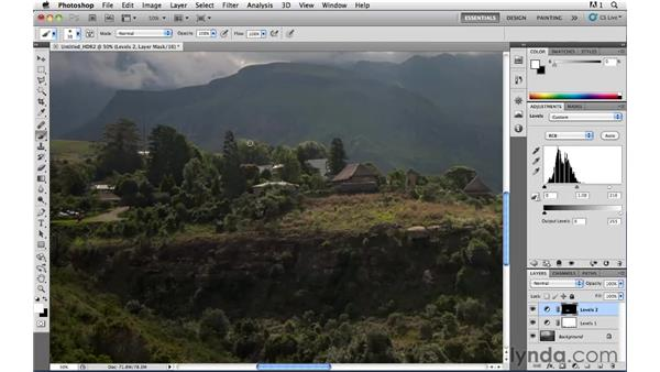 Painting light and shadow pt. 2: Photoshop CS5: Landscape Photography