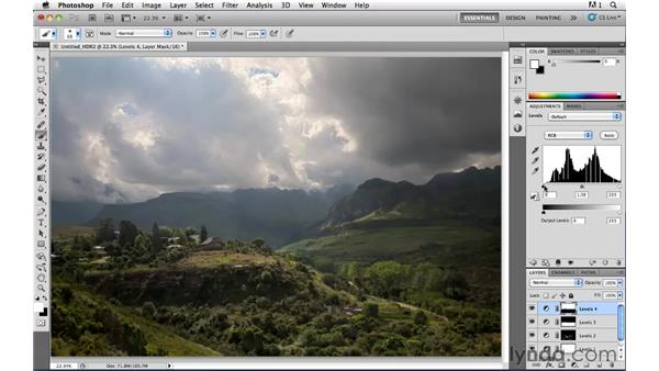 Painting light and shadow pt. 3: Photoshop CS5: Landscape Photography