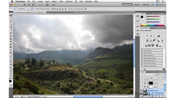 HDR + LDR: Photoshop CS5: Landscape Photography
