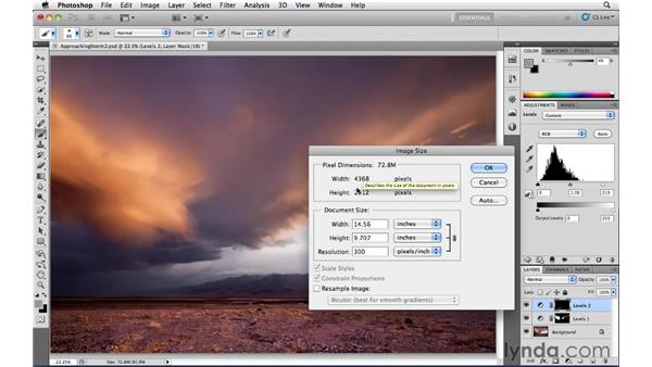 Sizing: Photoshop CS5: Landscape Photography