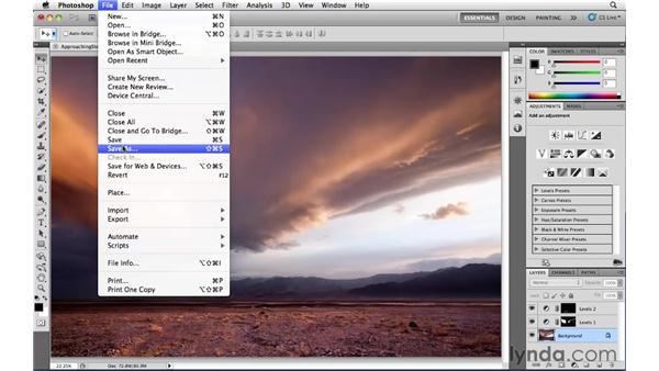 Saving: Photoshop CS5: Landscape Photography