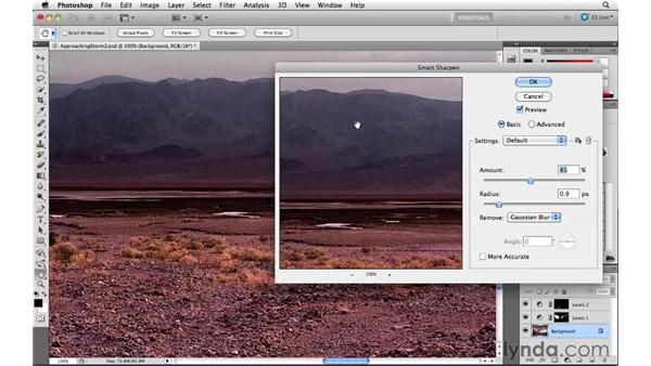 Sharpening: Photoshop CS5: Landscape Photography
