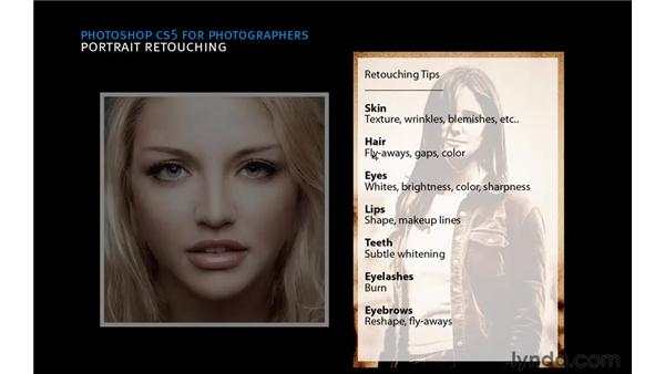 Retouching workflow strategies: Photoshop CS5: Portrait Retouching