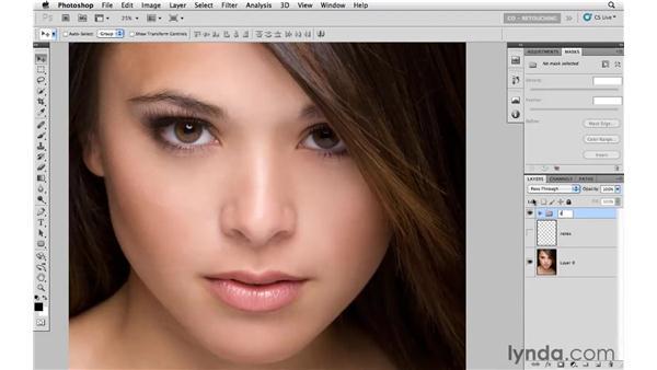 Making a final evaluation: Photoshop CS5: Portrait Retouching