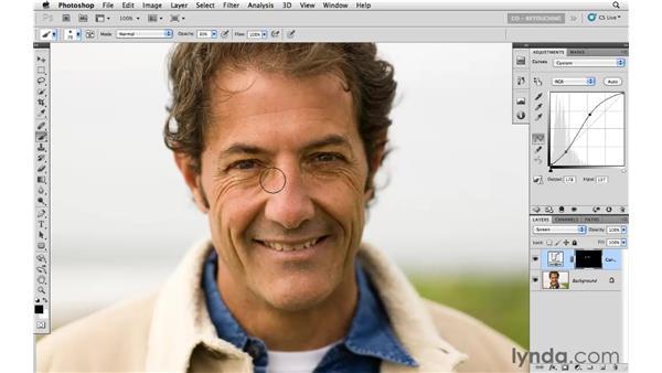 Combining blending modes: Photoshop CS5: Portrait Retouching