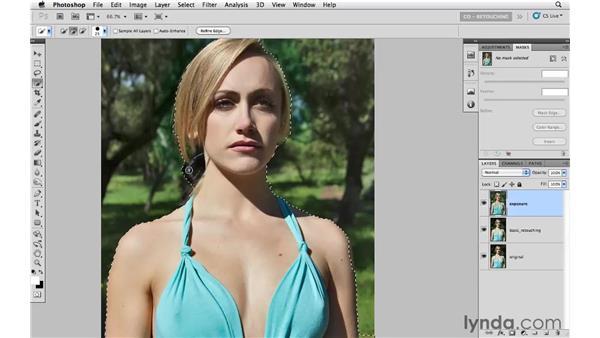 Using Shadow/Highlights to improve exposure: Photoshop CS5: Portrait Retouching
