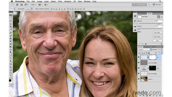 Fine-tuning and making final adjustments: Photoshop CS5: Portrait Retouching