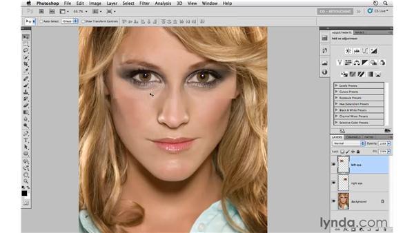 """Creating """"Hollywood Eyes"""": Photoshop CS5: Portrait Retouching"""
