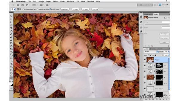 Final sharpening: Photoshop CS5: Portrait Retouching