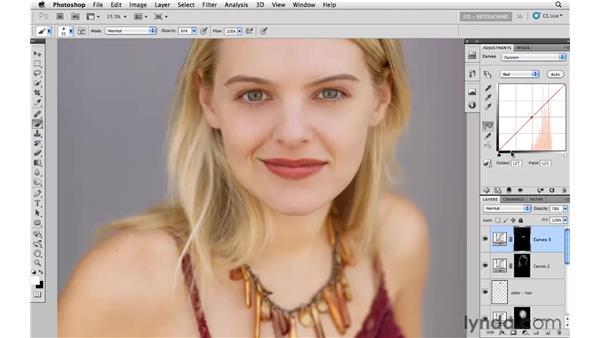 Enhancing the lips: Photoshop CS5: Portrait Retouching