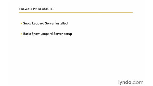 Firewall prerequisites: Mac OS X Server 10.6 Snow Leopard: DNS and Network Services