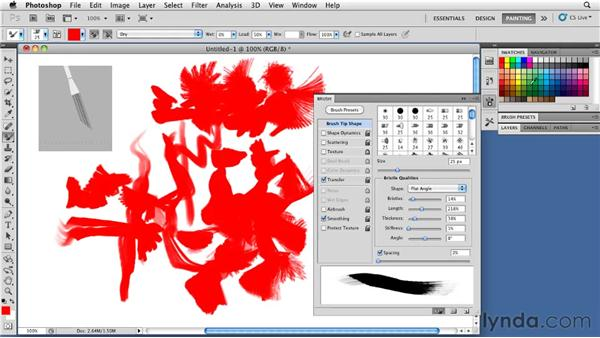 : Photoshop CS5: Painting with the Mixer Brush