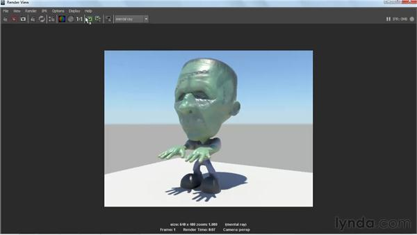 Activating the Physical Sun and Sky network: Lighting and Rendering with mental ray in Maya