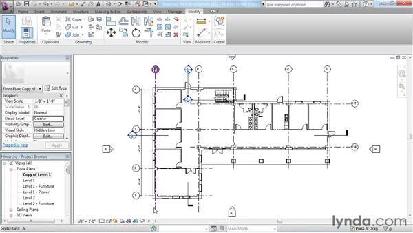 Understanding Revit element hierarchy: Revit Architecture 2011 Essential Training