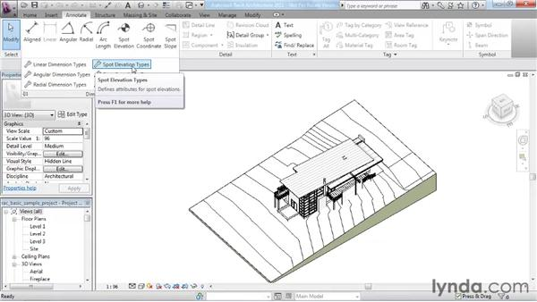 Using the Ribbon and the Quick Access Toolbar (QAT): Revit Architecture 2011 Essential Training