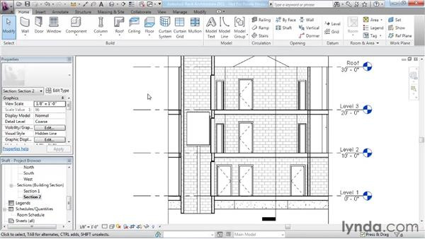 Adding openings: Revit Architecture 2011 Essential Training