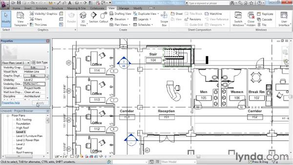 Using the Linework tool: Revit Architecture 2011 Essential Training