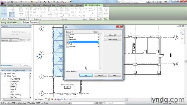 Controlling room numbering: Revit Architecture 2011 Essential Training