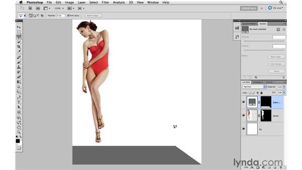 Building a false context: Photoshop CS5: Creative Effects