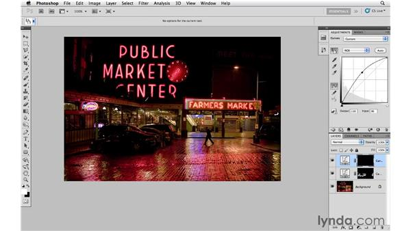 Adding light for emphasis: Photoshop CS5: Creative Effects