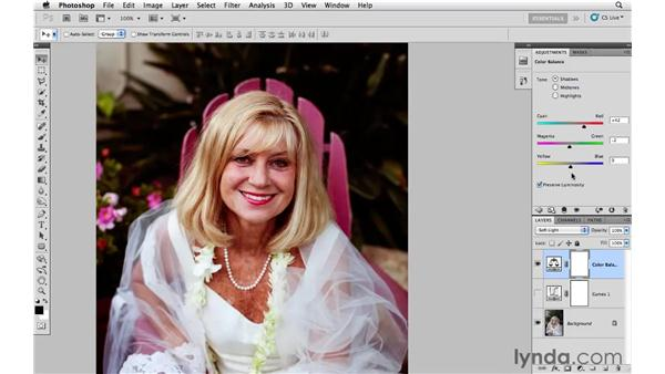 Using curves, color balance, and blending for best results: Photoshop CS5: Creative Effects