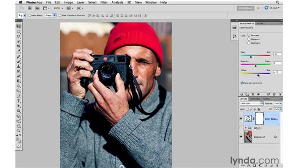 Enhancing color and creating color variations: Photoshop CS5: Creative Effects