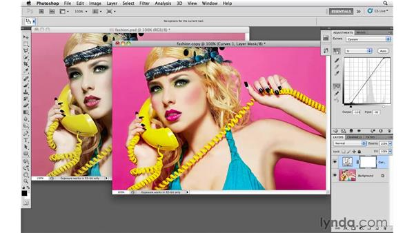 Making adjustments with Selective Color: Photoshop CS5: Creative Effects