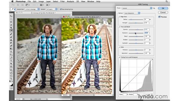 Introducing the HDR Toning feature: Photoshop CS5: Creative Effects