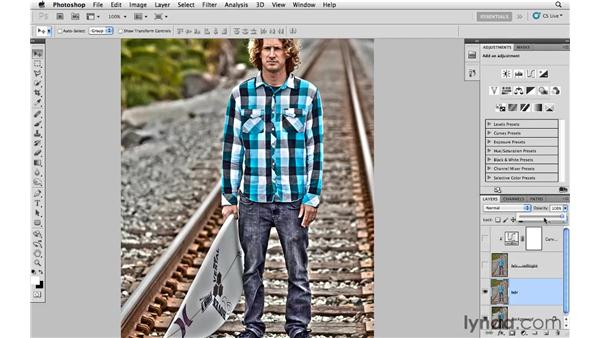 Using layer masks and blending with HDR toning: Photoshop CS5: Creative Effects