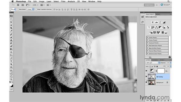Enhancing a photograph with HDR for black-and-white conversion: Photoshop CS5: Creative Effects