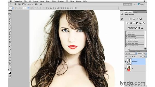 Creating a high key color effect: Photoshop CS5: Creative Effects