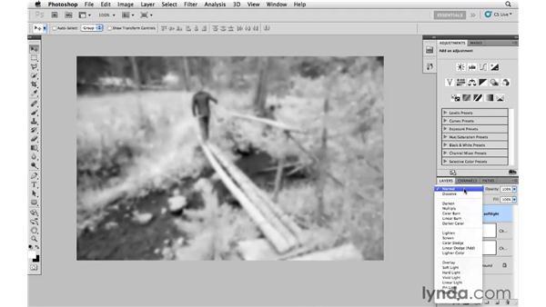 Basic infrared conversion: Photoshop CS5: Creative Effects