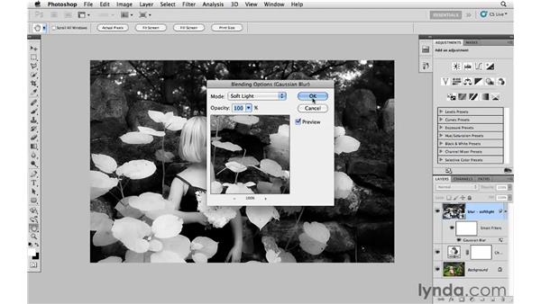 Working with infrared presets: Photoshop CS5: Creative Effects