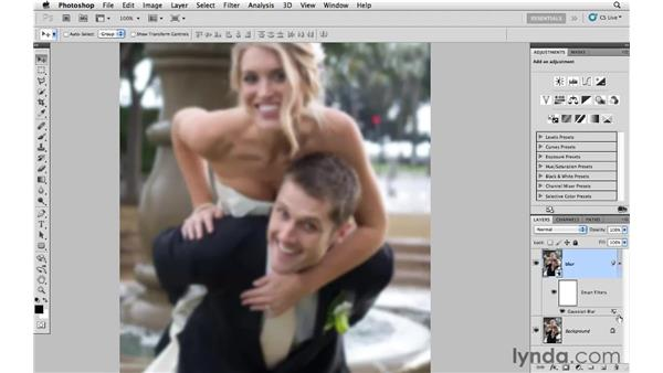 Using Smart Filters to create soft focus: Photoshop CS5: Creative Effects