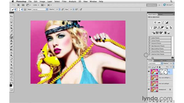 Applying soft focus to skin: Photoshop CS5: Creative Effects