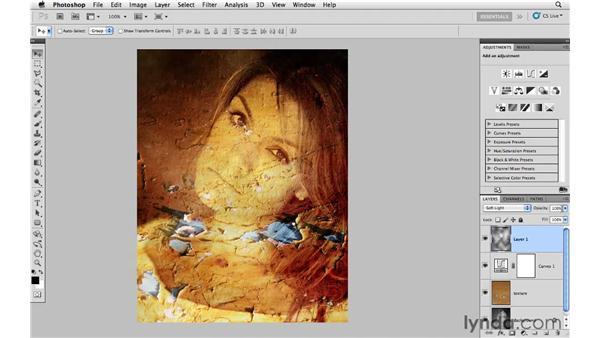 Creative texture blending: Photoshop CS5: Creative Effects