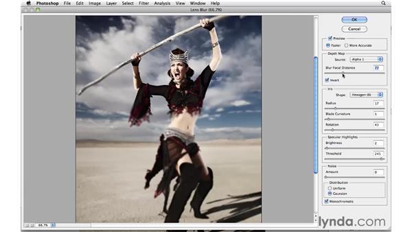 Desert fashion project: Photoshop CS5: Creative Effects