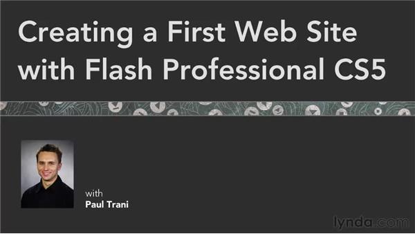 Goodbye: Creating a First Web Site with Flash Professional CS5