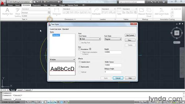 Accessing AutoCAD's tools: AutoCAD 2011 Essential Training