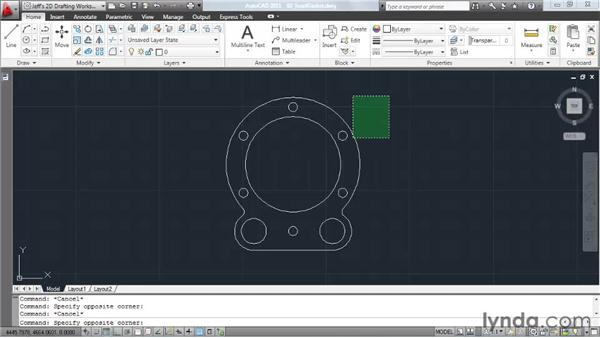 Understanding mouse functions: AutoCAD 2011 Essential Training