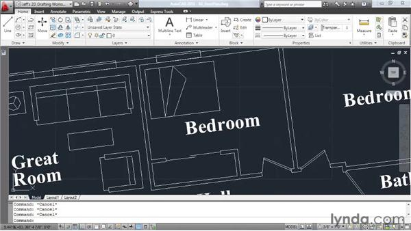 Zooming, panning, and regenning: AutoCAD 2011 Essential Training