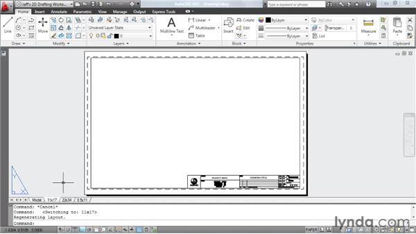 : AutoCAD 2011 Essential Training
