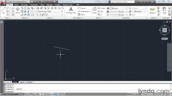 Defining a unit of measure: AutoCAD 2011 Essential Training