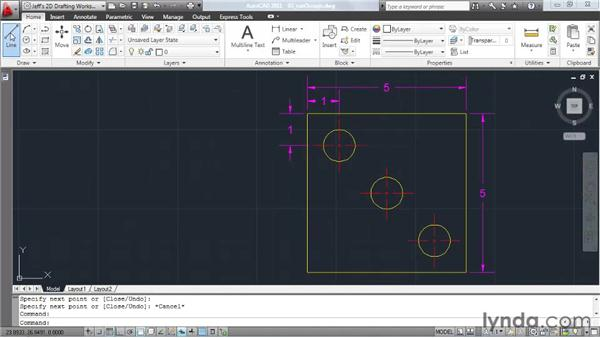 Automating object snap selection: AutoCAD 2011 Essential Training