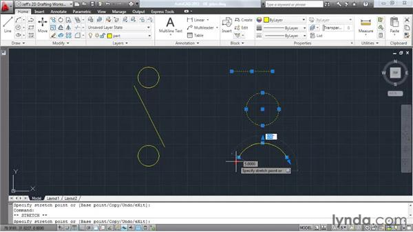 Leveraging grips: AutoCAD 2011 Essential Training