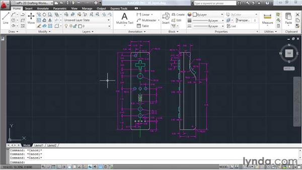 Understanding layers: AutoCAD 2011 Essential Training