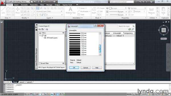 Creating and adjusting layers: AutoCAD 2011 Essential Training