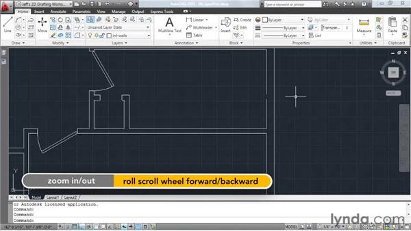 Restoring previous layer states: AutoCAD 2011 Essential Training