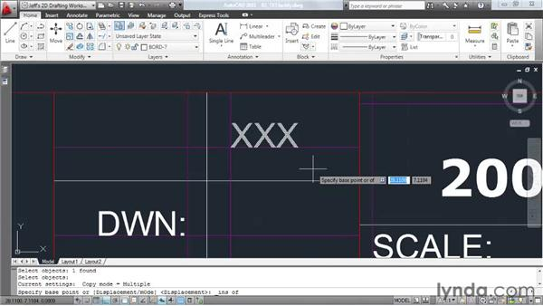 Justifying text: AutoCAD 2011 Essential Training